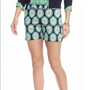 crown & ivy Shorts - Crown & Ivy Boho Preppy Medallion Print Shorts